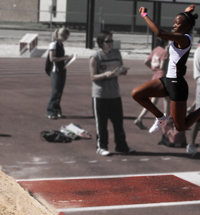 Shantel Swift Long jump