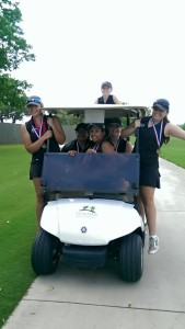 Golf Girls Win